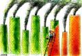 Greenwashing cartoon